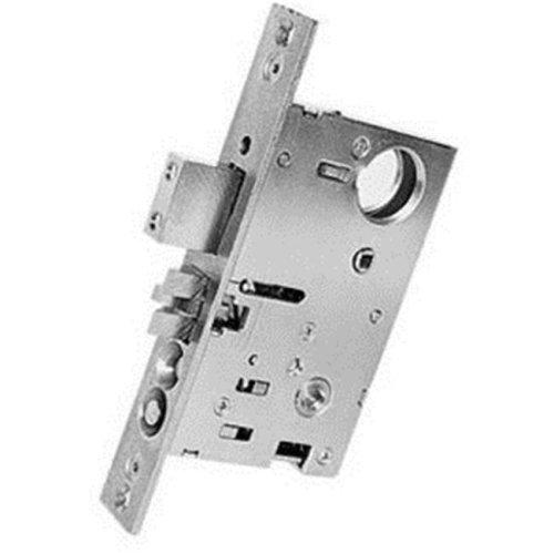 Baldwin 6301003LLS 2.5 in. Less Cylinder Backset Entrance Mortise Lock