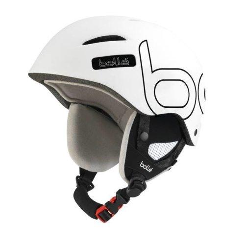 Bolle B-Style Helmet - Soft White / Black-58-61CM