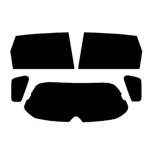 Pre cut window tint - Honda Civic 5-door Hatchback - 2001 to 2005 - Rear windows