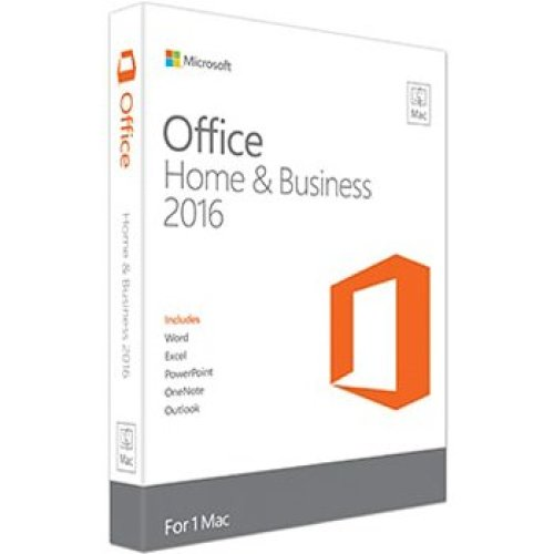 Microsoft Office Mac Home & Business 2016, EN 1user(s) English