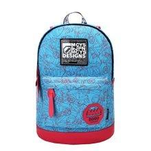 Korean Tide Leisure Bag Backpack Backpack Sports Bag,Color Mixing