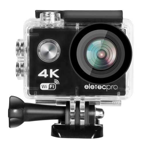 Action Camera, EletecPro 4K WIFI Ultra HD Waterproof Sports Action Camera 12MP 2.4G Remote Control 170 Degree Wide Angle 2.0 Inch LCD 30m...