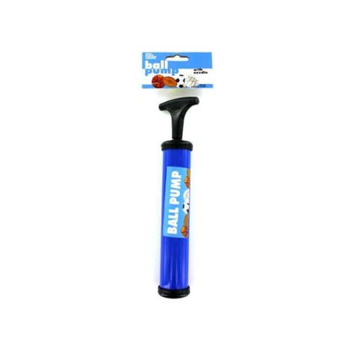 """Bulk Buys GM165-48 9 3/4""""L x 2 3/8""""W-1 1/2""""Dia Ball Pump with Needle - 48 Pack"""