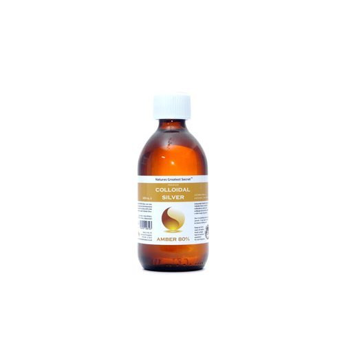 Natures G/Secret  Amber 80% Colloidal Silver (Bottle) 300ml