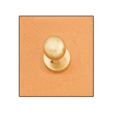 Large Solid Brass Screwback Button Stud -  large solid brass screwback button stud 10mm leathercraft accent tandy