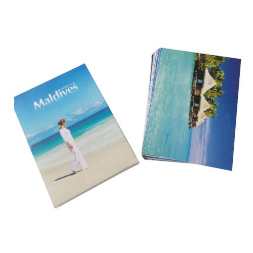 Postcard Hand Set Collection Set City View Painting Greeting Card  #1