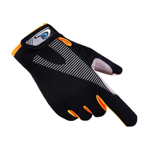 Classic Simple Design Men Sports Gloves Non-slip Sport Gloves-A3