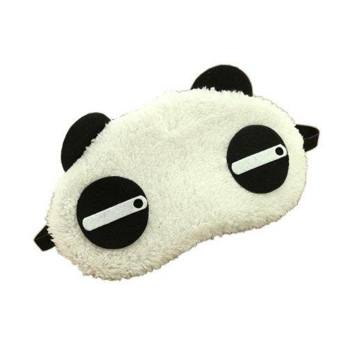 Creative Cartoon Eye Mask Funny Soft Eyeshade Eye Mask Panda Style