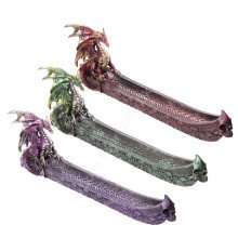 Dragon Boat Ashcatcher Incense Stick Burner Holder