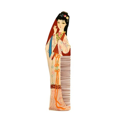 Natural Wooden Comb/Best Choice Of Gift Giving/Chinese Style(Phoebe Wood)