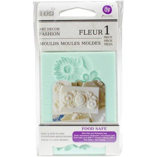 Prima Marketing 815936 2.5 x 3.5 in. Fleur Decor Mould
