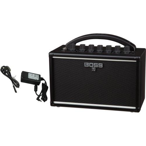 Boss Katana Mini Battery/Mains Powered Guitar Amplifier & Boss Power Supply