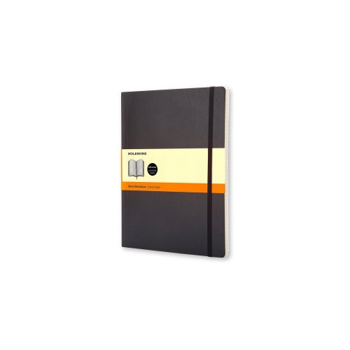 Moleskine Soft Extra Large Ruled Notebook (19 x 25cm)