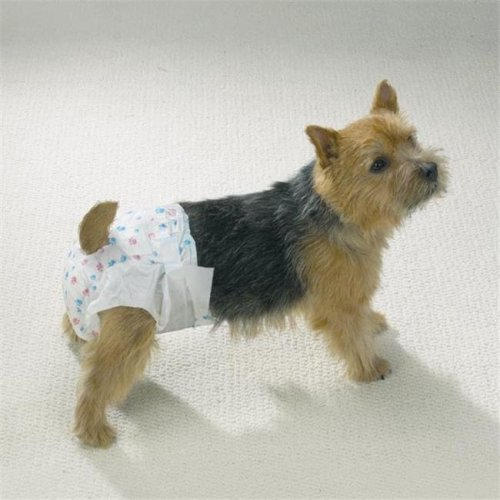 Clean Go Pet Disposable Doggy Diapers Xsm