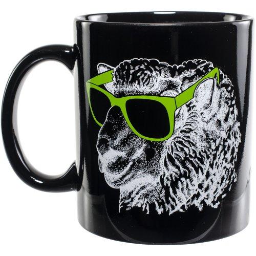 K1C2 Knit Happy Mug 11oz-Black