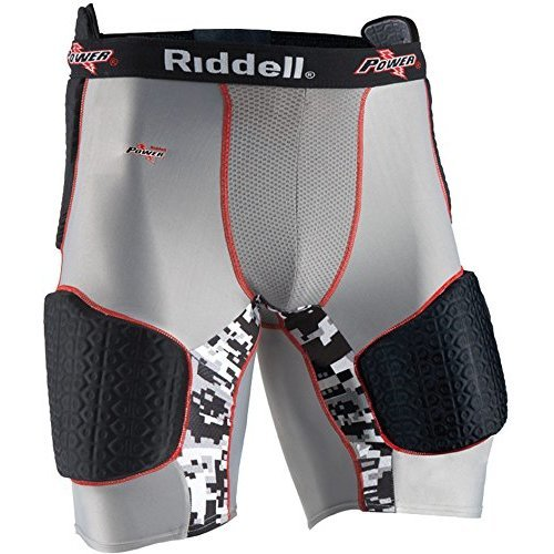 Riddell Youth Power Recon Five Piece Padded Football Girdle Small