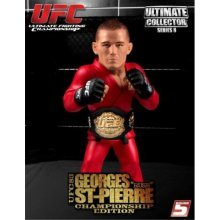 "UFC Ultimate Collector Series 8 George """"Rush"""" St-Pierre (Championship Edition with Belt)"