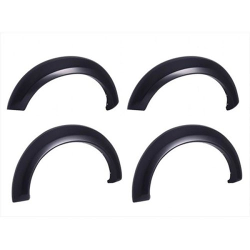 EGR 751584 Rugged Look Fender Flare Set of 4 No-Drill - Front And Rear