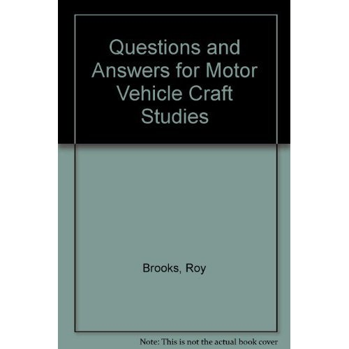 Questions and Answers for Motor Vehicle Craft Studies