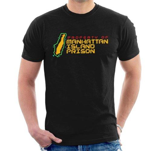 Manhattan Island Prison Escape From New York Men's T-Shirt