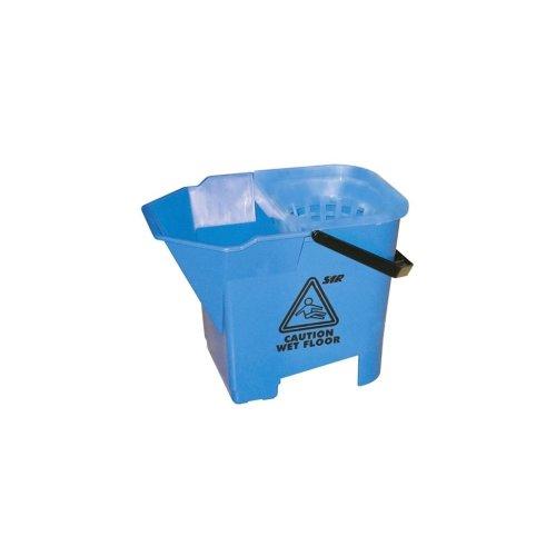 Plastic Mop Bucket - Blue - 8 Litre