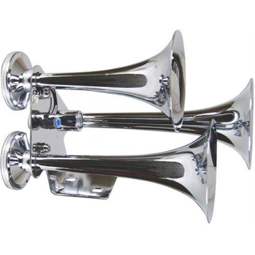 "AUDIOP THSY1075H 11-1/4"" Triple Air Horns"