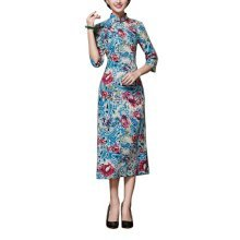 Elegant Oriental Cheongsam Qipao Chinese Style Costume Dresses, #08