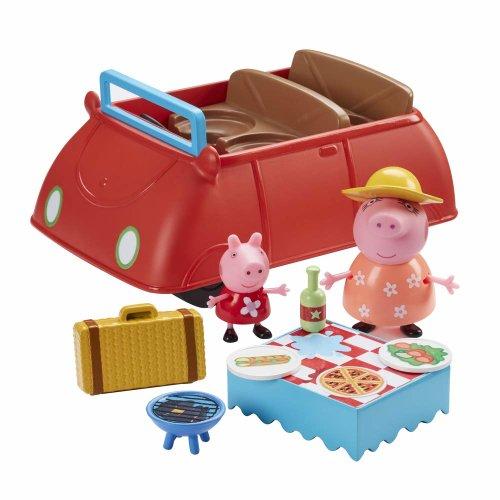 Peppa Pig - Peppa's Deluxe Big Red Car