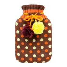 Warm Cute Hot-Water Bottle Water Bag Water Injection Handwarmer Pocket Cozy Comfort,N