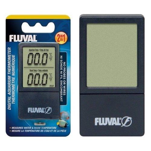 Fluval 2-in-1 Digital Aquarium Thermometer
