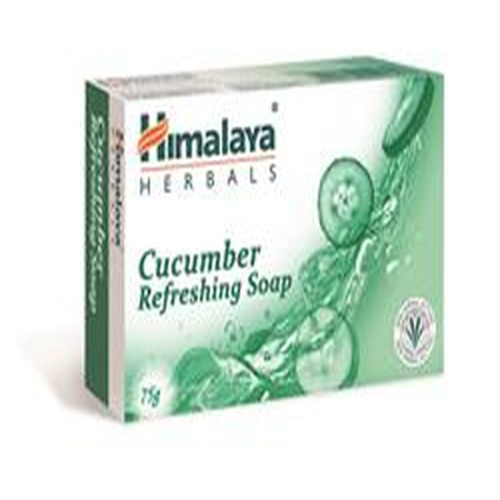 Himalaya Herbal Healthcare Cucumber Refreshing Soap 75g (order 90 for Trade Outer)