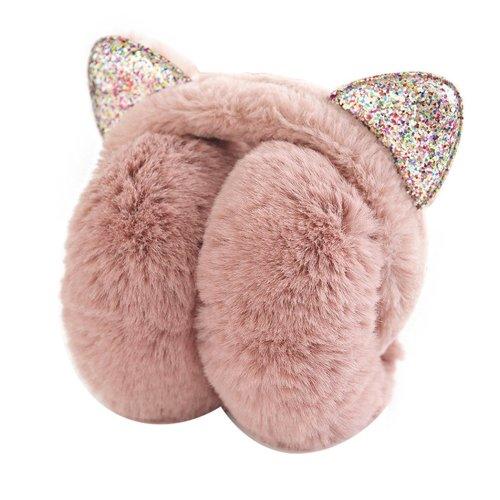 Lovely Earmuffs Plush Earmuff Warm Earmuffs Ear Protection For Kids [L]