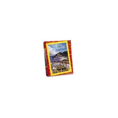 National Geographic Mystery Voyage Game by University Games