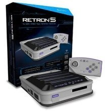 Hyperkin RetroN 5 Retro Video Gaming System 5-in-1 Grey