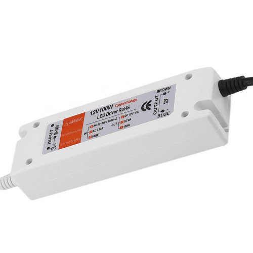 100W Compact LED Driver AC 230V to DC12V Power Supply Transformer