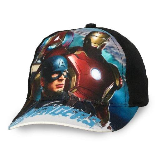 Avengers Baseball Cap - D4 - Black