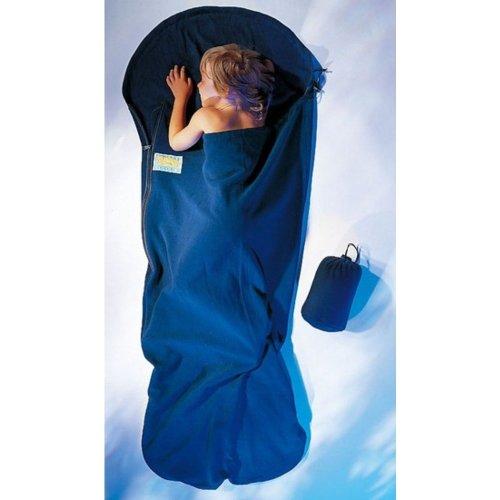 Cocoon KidBag Warm Fleece Sleeping Bag (Chuchuna Blue)
