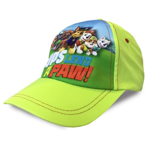 Lime Paw Patrol Baseball Cap