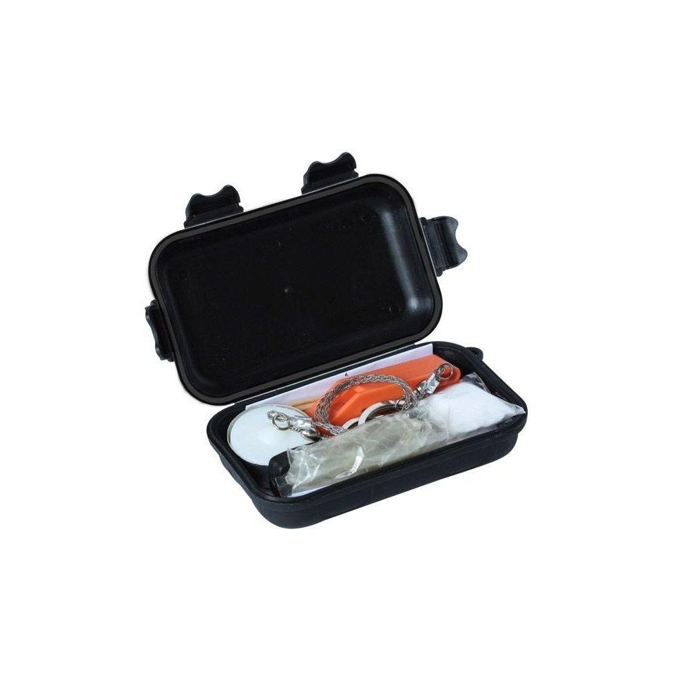 KOMBAT SURVIVAL KIT IN WATERPROOF PLASTIC CASE