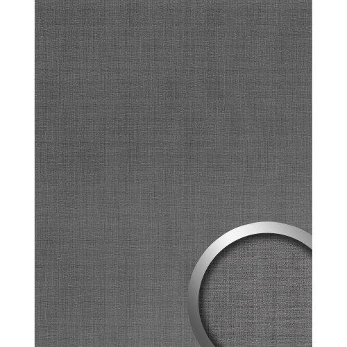 WallFace 20204 Refined Metal Titan AR Design panelling metal look grey 2.6 sqm