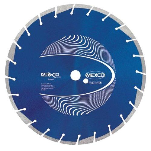 Mexco ASX10 350mm Asphalt Diamond Blade 25.4mm Bore
