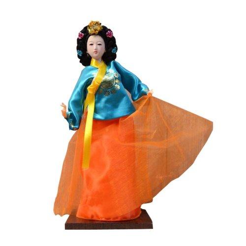 f1d1a2cf7 Traditional Korean Hanbok Vintage Restaurant Doll Figurine 07 on OnBuy