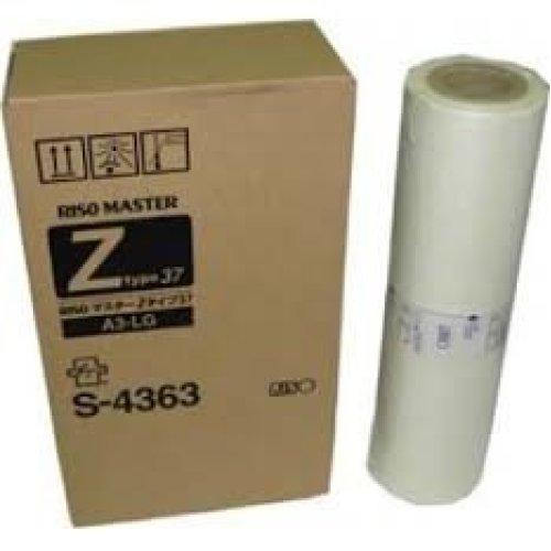 New Genuine RISO S4363 OEM Masters For Risograph EZ390 EZ590 MZ790 RZ390 RZ590 and RZ790 Duplicartors Box of 2