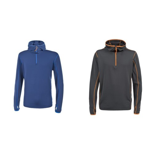 Trespass Mens Oxy Active Long Sleeve Hooded Top