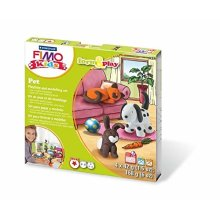 STAEDTLER Fimo 8034 02 LZ Kids Pet Form and Play Set