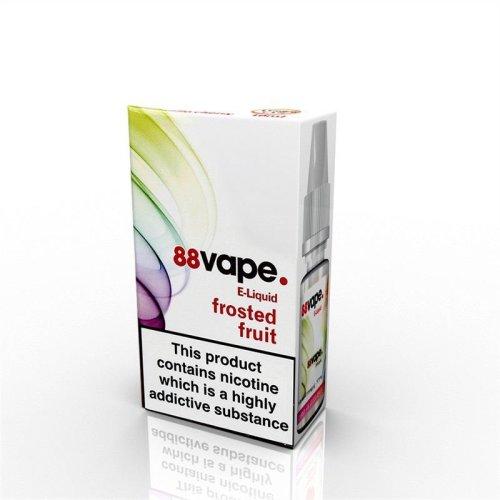 88 Vape E-Liquid Nicotine 11mg Frosted Fruits 10ML