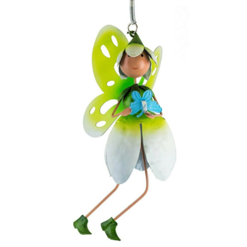 Fountasia Fairy Kingdom Floral Fairy Springers great outdoor metal Snowdrop