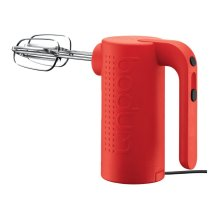Bodum Bistro Electric Hand Mixer in Red