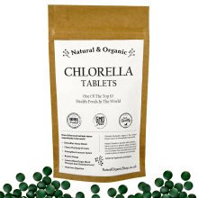 Natural & Organic - CHLORELLA Tablets - Cracked Cell Wall