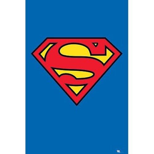 Poster Logo Superman